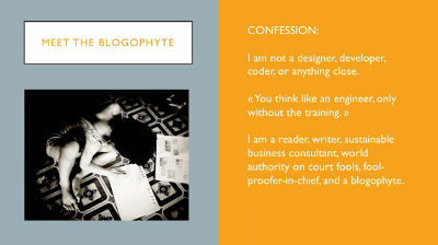 Beatrice Otto: Confessions of a blogophyte