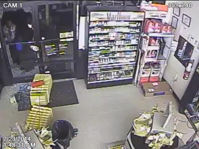 Video Salisbury Dollar General Smash And Grab Robbery
