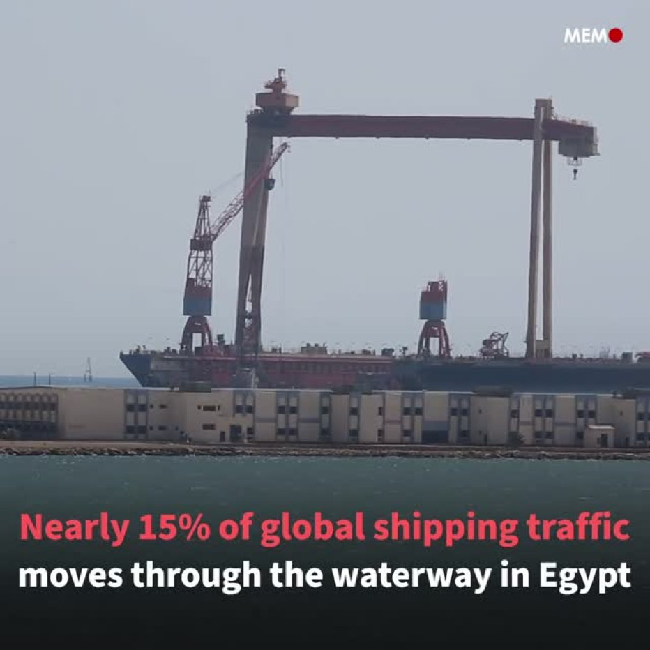 Cargo ship stuck in Suez Canal back afloat