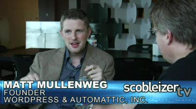 Scobleizer TV: Matt Mullenweg reveals future of WordPress (Part 1)