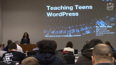 Diana Day: Teaching Teens WordPress