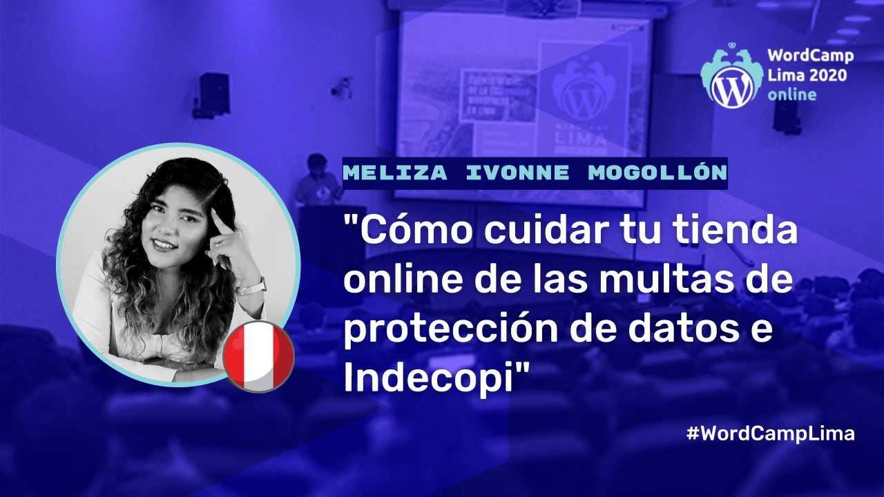 Meliza Mogollón: Cómo cuidar tu tienda online de las multas de protección de datos e Indecopi