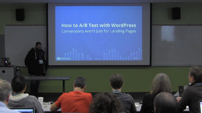 Brendan Sera-Shriar: How to A/B Test with WordPress – Conversions Aren't Just for Landing Pages