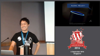 Okamoto Hidetaka: Amazon Alexa + WP REST API = GUI-Less WordPress Application