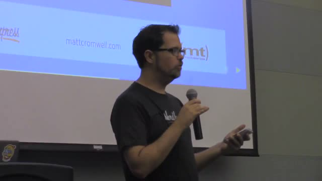 Matt Cromwell: Getting Started with WordPress the Right Way