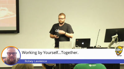 Robey Lawrence: Working by yourself - together