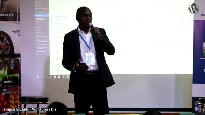 Francis Kamau: WordPress DIY