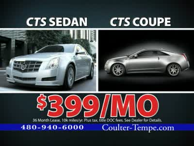 2011 march coulter motor company for Coulter motor company tempe