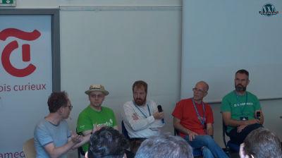 Robert Windisch, Pascal Hämmerli, Frédéric Demarle, Remy Blaetter, Manuel Schmalstieg: Round table: Multilingual