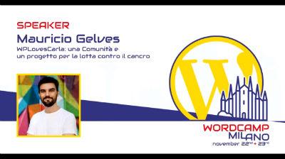 Mauricio Gelves: WPLovesCarla, una Comunità e un progetto per la lotta contro il cancro