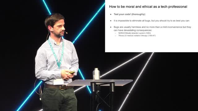 Chris Brosnan: Ethics and Morals in Web Development