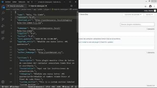 Yordan Soares: Actualizaciones automáticas para tus plugins y temas personalizados