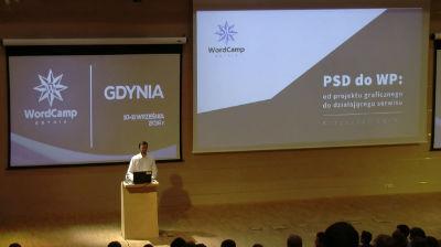 Krzysztof Łęcki: PSD do WP: od projektu graficznego do działającego serwisu