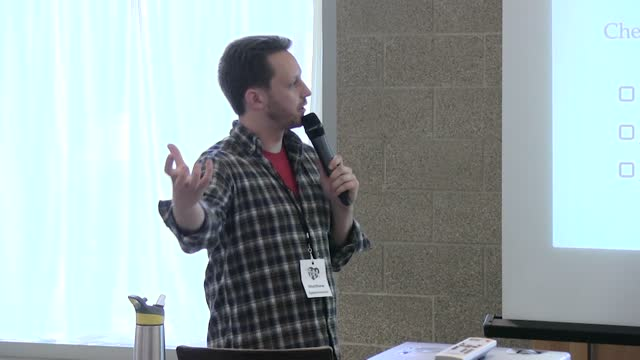 Matthew Eppelsheimer: Checklists: A Path To Mistake-Free Development And Publishing