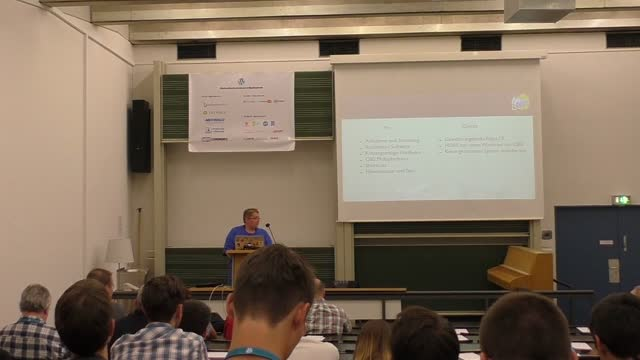 Frank Staude: Lightning Talk – Sessionvideos ohne (große) Nachbearbeitung erstellen
