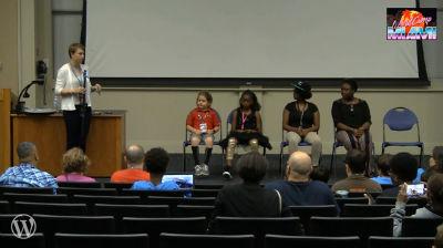 Jayda Washington, Victoria Dameus, Alicia Eugene and Titus Brinley: Kids Panel