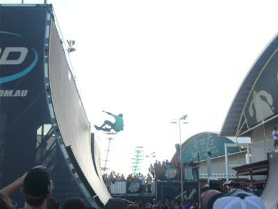 Tony Hawk At Monster Skatepark Sydney Olympic Park