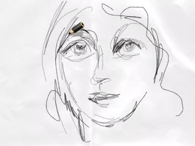 Line Drawing Face : Drawing faces quick videos u janette leeds art and words