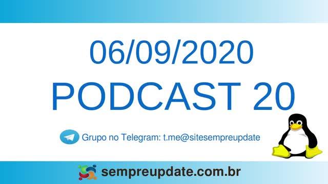 Podcast 20: cai número de usuários Linux e distribuição brasileira Linuxfx muda base para o Linux Mint