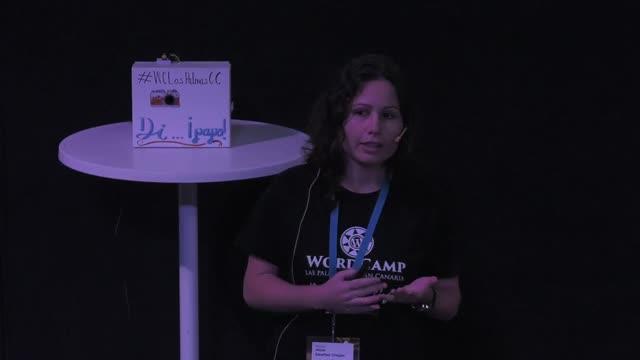 Paloma Monzón y Alicia Sánchez: Arduino y WordPress, ¿por qué no?