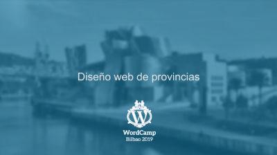 Caín Santamaría: Diseño web de provincias