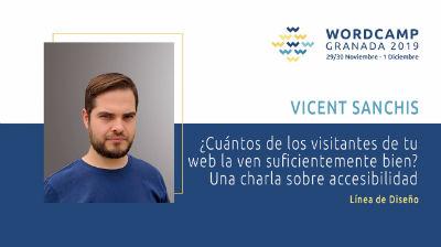 Vicent Sanchis: ¿Cuántos de los visitantes de tu web la ven suficientemente bien?