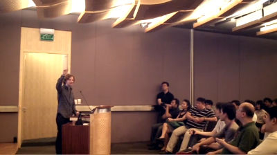 Matt Mullenweg: Speaking with the Singapore PHP User Group