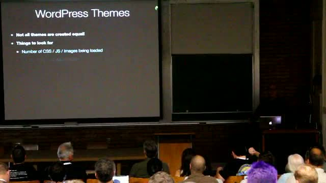 Josh Highland: Optimizing the performance WordPress