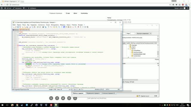 denisco: Как добавить редактируемый из админ-панели текст в подвал сайта в WordPress