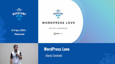 Maciej Swoboda: WordPress Love