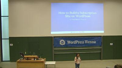 Ma. Rosario Pajaroja-Villanueva: Build Your Own Subscription Site on WordPress in 5 Steps