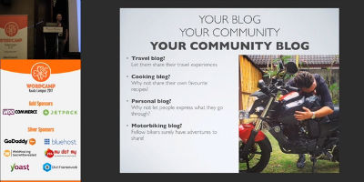 Eric Tracz: Create Your Own Community Blog And Empower Your Users