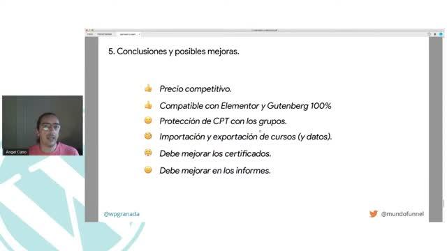 Ángel Cano: Tu escuela profesional en WordPress