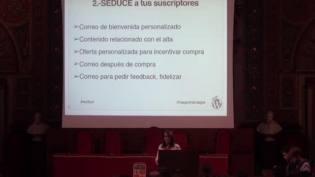 Vanesa Gómez del Río: Cómo crear tu estrategia de Email Marketing en 4 pasos