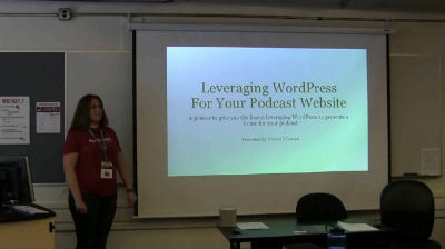 Krystal O'Connor: WordPress + Podcasting