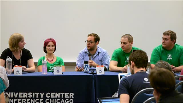 Panel Discussion: Designers and Developers, Bridging the Gap