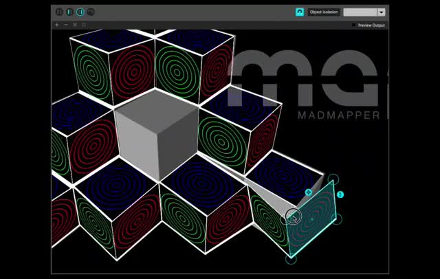 MadMapper complete cubes720]