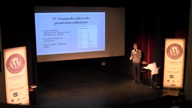 Aurélien Denis : WordPress en tant que CMS