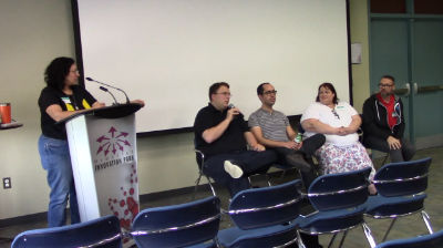 Mike Demo, Adam Warner, Brian Hogg and Michelle Ames: Panel - WP-FAQ