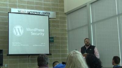 Sam Hotchkiss: WordPress Security 101