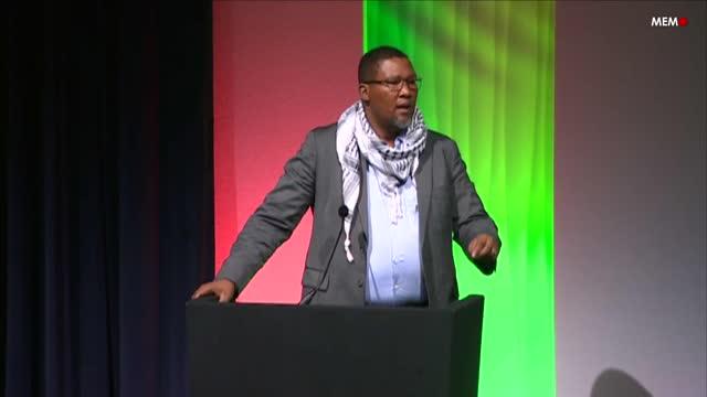 Beyond Palexpo: Chief Nkosi Zwelivelile Mandela MP at Palestine Expo 2019