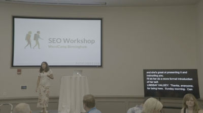 Lindsay Halsey: SEO Workshop
