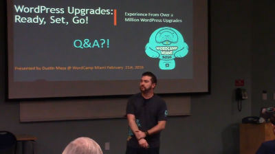 Dustin Meza: WordPress Upgrade Anxiety No More