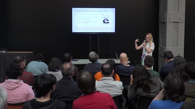 Laura Díaz: Cómo limpiar un WordPress con síndrome de Diógenes