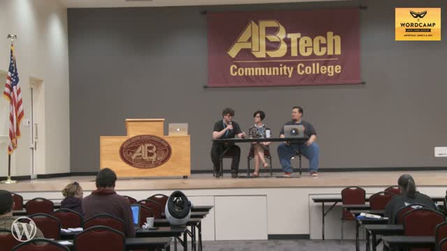 Alisa Herr, Jeremy Proffitt and Pat Eason: Accessibility Panel