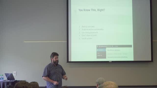 Frank Jones: Data-Driven Marketing with WordPress