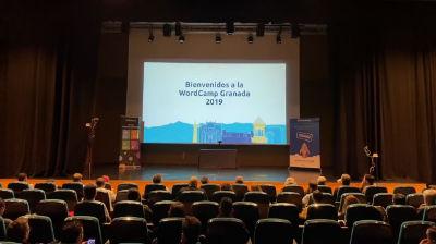 David Perez, Jesus Yesares: Apertura y Bienvenida a la WordCamp Granada 2019