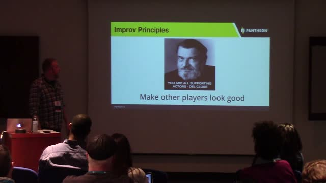 Dwayne McDaniel: We Are All Making This Up - Lessons For The WP Dev From Improv