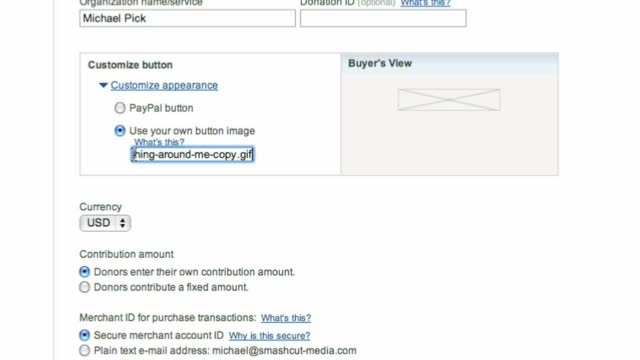 Add a PayPal button to your self-hosted WordPress blog