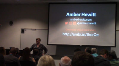 Amber Hewitt: How To Level Up Your Web Design Skills p4 of 4